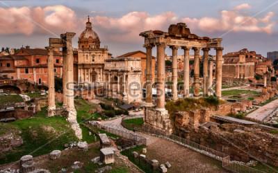 Obraz Forum Romanum w Rzymie