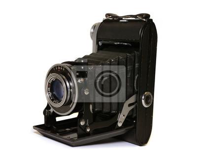 fotoapparat antiker, vintage Fotokamera