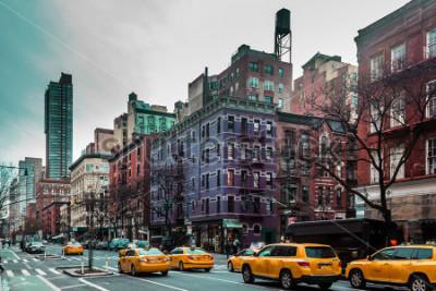 Obraz Fotografia budynki i ulicy Górny Zachodni miejsce Manhattan, Miasto Nowy Jork