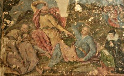 Obraz Francja, Saint-Gervais kolegiata św Protais z Gisors