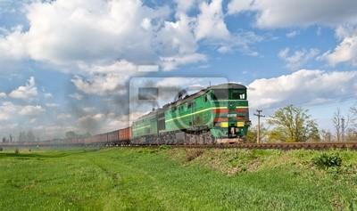Freight train diesel