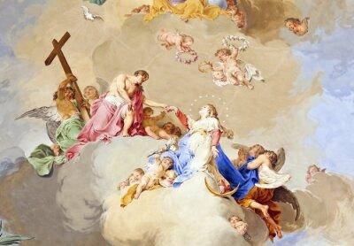 Obraz fresco Ochsenhausen