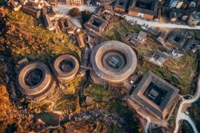 Fujian Tulou aerial view