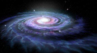 Obraz Galaktyka spiralna Droga Mleczna