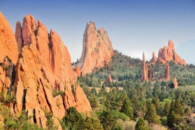 Obraz Garden of the Gods w Colorado Springs