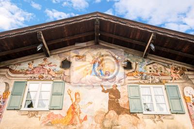 Garmisch-Partenkirchen, Haus mit Lüftlmalerei