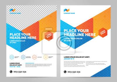 Geometria kolorowy szablon układu broszury, tło projektu okładki, raporty roczne. Można dostosować do raportu rocznego, plakatu, ulotki, banera.