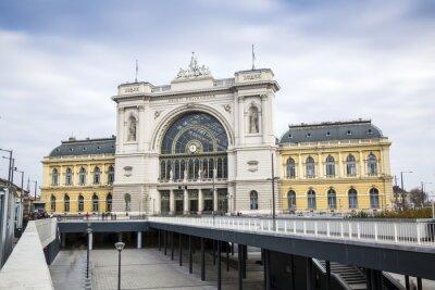 Obraz Główny dworzec kolejowy, Budapeszt, Węgry
