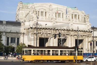 Obraz Główny dworzec kolejowy w Mediolanie