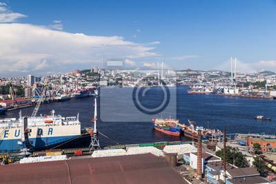 Golden Bridge at Vladivostok, Russia