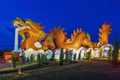 Golden Dragon at Suphanburi, Thailand, Public architecture for t
