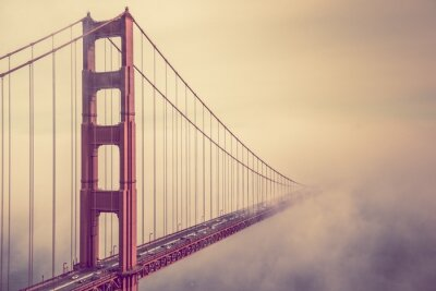 Obraz Golden Gate we mgle