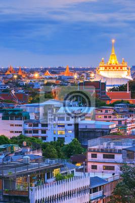 Golden Mountain Temple, Wat Saket Bangkok