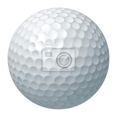 Obraz Golf ball ilustracji