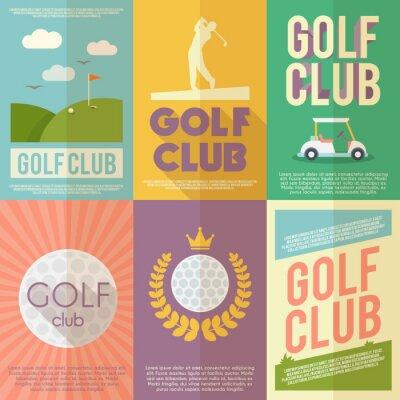 Obraz Golf Poster Set