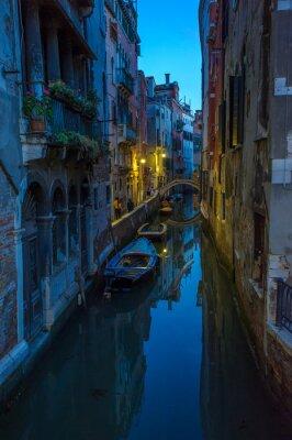 Gondole na Canal Grande, Wenecja, Włochy