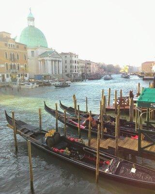 Obraz Gondole w Wenecji
