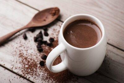 Obraz gorąca czekolada