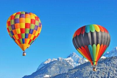 Obraz gorące powietrze balon