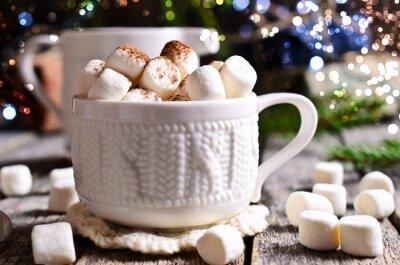 Obraz Gorący napój z marshmallows