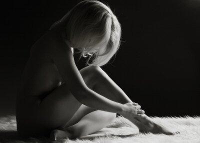 Obraz Gorgeous female silhouette