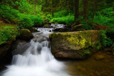Obraz górskie rzeki