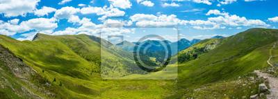 Obraz Górskiej dolinie