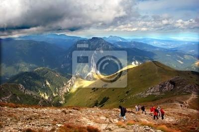 Góry burzliwe krajobraz
