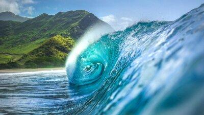 Obraz góry do morza