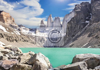 Góry Torres del Paine, Patagonia, Chile