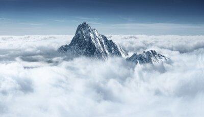 Obraz Góry w chmurach