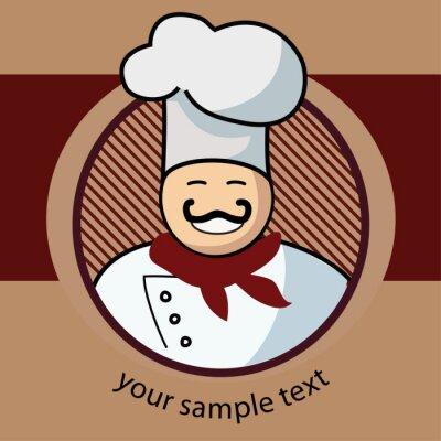 Obraz Gotuj etykietę