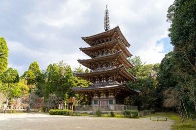 Obraz Goujonoto Pagoda w Daigo-ji w Kioto