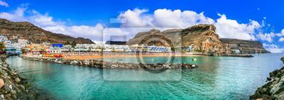 Grand Canary island - beautiful Puerto de Mogan, popular tourist destination. Canary islands of Spain