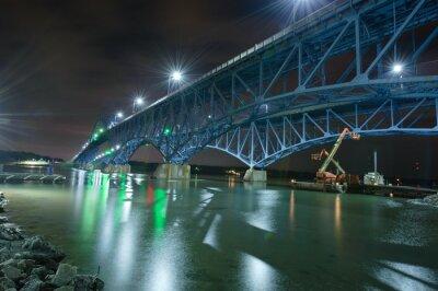 Grand Island Bridges Widok SIde