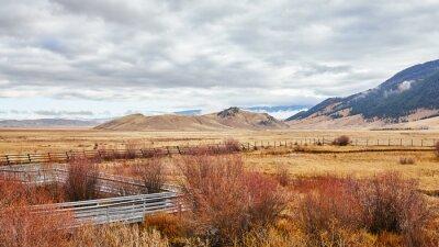 Grand Teton National Park in Autumn, Wyoming, USA.