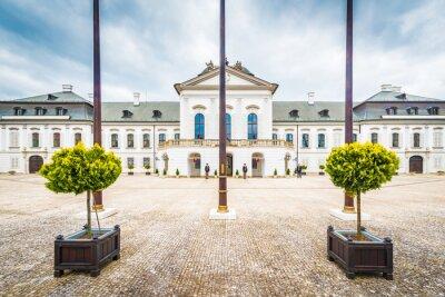 Grassalkovich Palace in Bratislava, Slovakia.