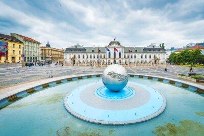 Obraz Grassalkovich Palace in Bratislava, Slovakia.