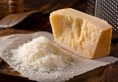 Obraz Grated Parmesan Cheese