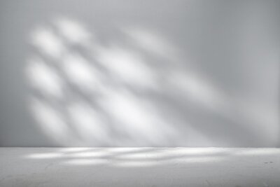 Obraz Gray background for product presentation with beautiful light pattern
