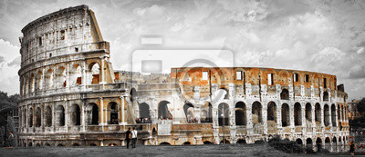 Great Rome, panorama of Colosseum