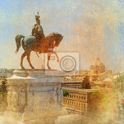 great Włosi Rzym seryjnie zabytki