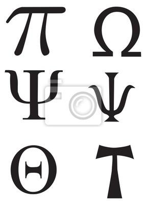 Greckie Znaki I Symbole Tatuaż Obrazy Redro