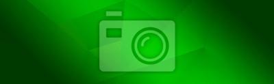 Obraz Green background for wide banner, design template