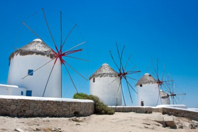 Obraz Grek wiatraki