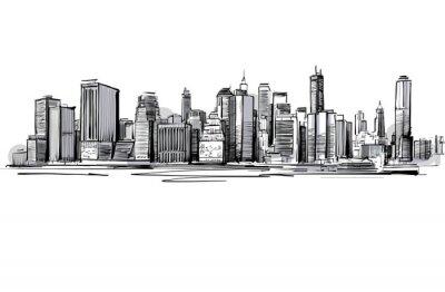 Obraz Grey Skyline