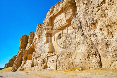Groby królów perskich, Naqsh-e Rustam, Iran