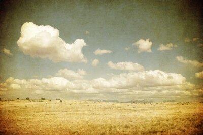 Obraz grunge obrazu z pola