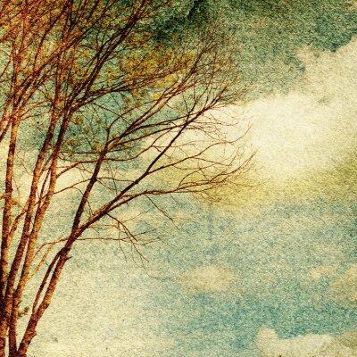 Obraz Grunge rocznika tle przyrody