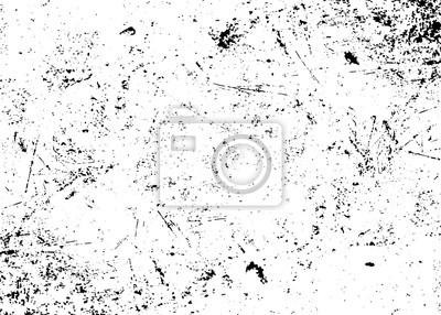 Obraz Grunge tekstury biały i czarny. Szkic abstrakcyjne Tworzenie udzielenie efekt. Nakładka Distress monochromatyczny wzór ziarna. Stylowe nowoczesne tło dla różnych produktów drukarskich. ilustracji wekt